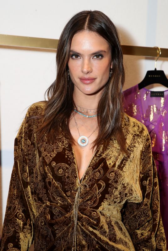 ALESSANDRA AMBROSIO at Dundas Traveling Flagship Cocktail Party in Los Angeles 04/24/2018