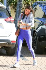 ALESSANDRA AMBROSIO Heading to a Gym in Los Angeles 04/20/2018