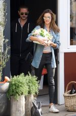 ALESSANDRA AMBROSIO Out and About in Los Angeles 03/31/2018