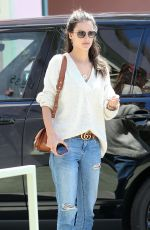 ALESSANDRA AMBROSIO Out for Lunch at Ivy in Santa Monica 04/19/2018