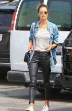 ALESSANDRA AMBROSIO Out Shopping in Los Angeles 04/01/2018