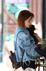 ALESSANDRA TORRESANI Out and About in Los Angeles 04/24/2018