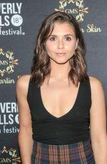 ALEXANDRA CHANDO at 18th Annual International Beverly Hills Film Festival Opening Night 04/05/2018