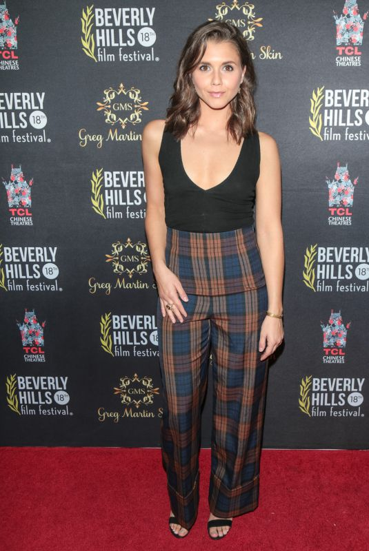 ALEXANDRA CHANDO at 18th Annual International Beverly Hills Film Festival Opening Night 04/05/2018