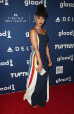ALEXANDRA SHIPP at Glaad Media Awards Rising Stars Luncheon in Beverly Hills 04/11/2018