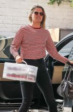ALI LARTER Out for Lunch at Coral Tree Cafe in Beverly Hills 04/23/2018