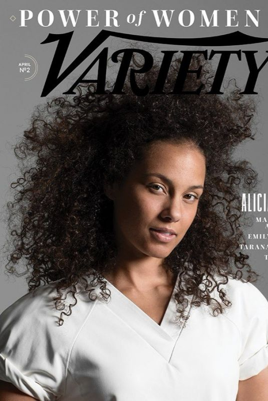 ALICIA KEYS for Variety Power of Women NY, April 2018
