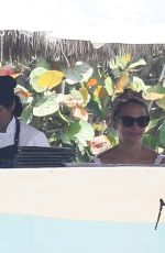 ALICIA VIKANDER and Michael Fassbender on Vacation in Puerto Vallarta 04/01/2018