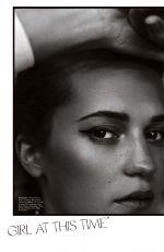 ALICIA VIKANDER in Elle Magazine, Australia May 2018