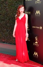 ALIE WARD at Daytime Creative Arts Emmy Awards in Los Angeles 04/27/2018