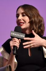 ALISON BRIE at Glow Presentation and Green Room in Los Angeles 04/15/2018