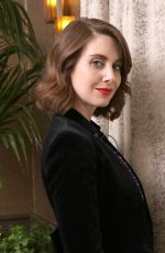 ALISON BRIE at Glow Press Conference in Los Angeles 04/16/2018
