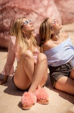 ALLIE and LEXI KAPLAN at Festival Kick-off Brunch by Ugg at Coachella Festival 04/13/2018