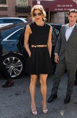 ALYSIA REINER Arrives at Egg Screening at Tribeca Film Festival 04/21/2018