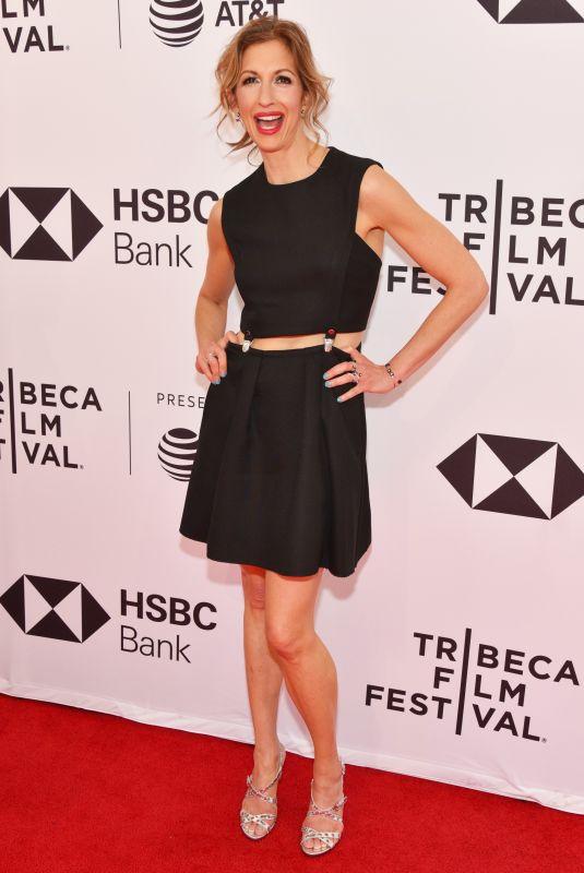 ALYSIA REINER at Egg Premiere at Tribeca Film Festival 04/21/2018