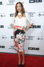 ALYSIA REINER at Love, Gilda Premiere at Tribeca Film Festival in New York 04/18/2018