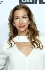 ALYSIA REINER at Love, Gilda Premiere at Tribeca Film Festival in New York 04/18/2018