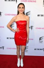ALYSON STONER at Cover Versions Premiere in Los Angeles 04/09/2018