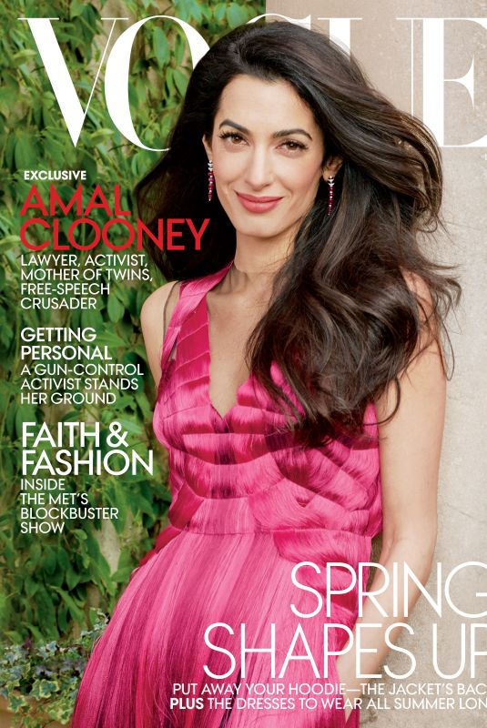 AMAL CLOONEY for Vogue Magazine, May 2018