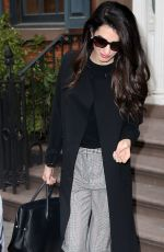AMAL CLOONEY Out and About in New York 04/12/2018