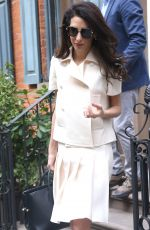 AMAL CLOONEY Out in New York 04/13/2018