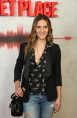 AMANDA BYRAM at A Quiet Place Premiere in London 04/05/2018