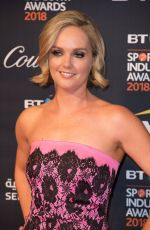 AMANDA DAVIES at BT Sport Industry Awards in London 04/26/2018