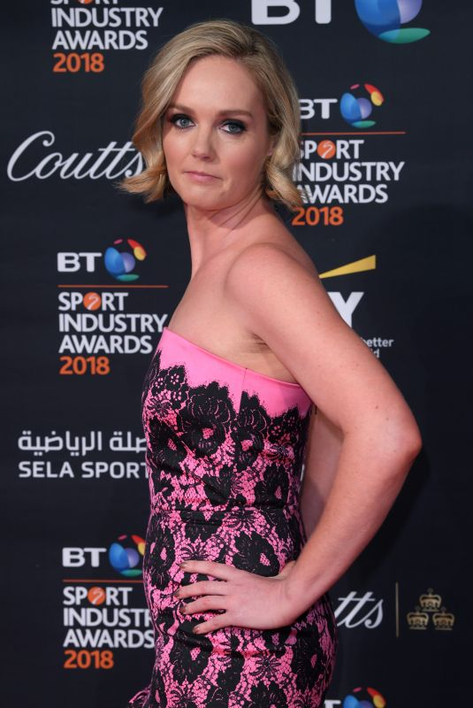 AMANDA DAVIES at BT Sport Industry Awards in London 04/26/2018