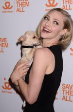 AMANDA SEYFRIED at Best Friends Animal Society
