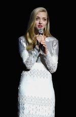 AMANDA SEYFRIED at Universal Pictures Presentation at Cinemacon in Las Vegas 04/25/2018