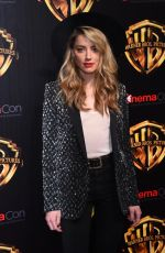 AMBER HEARD at The Big Picture Presentation at Cinemacon in Las Vegas 04/24/2018