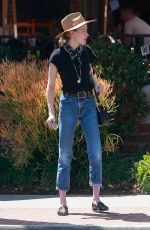 AMBER HEARD Out for Lunch in Los Feliz 04/14/2018