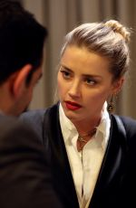 AMBER HEARD Speaks to Associated Press after Meeting with Syrian Refugees 04/05/2018