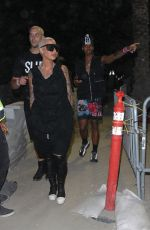 AMBER ROSE at Coachella Music and Arts Festival in Indio 04/21/2018