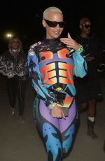 AMBER ROSE at Neon Carnival at Coachella Festival 04/15/2018