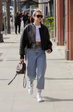 AMELIA GREY HAMLIN Out and About in Beverly Hills 04/06/2018