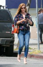 AMY ADAMS Out and About in Los Angeles 04/06/2018