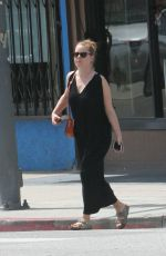 AMY ADAMS Out and About in Los Angeles 04/08/2018
