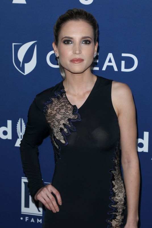 ANA FERNANDEZ at Glaad Media Awards 2018 in Beverly Hills 04/18/2018