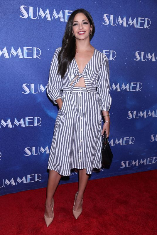 ANA VILLAFANE at Summer: The Donna Summer Musical Opening Night in New York 04/23/2018