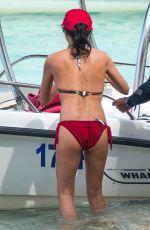 ANDREA CORR in Bikini at a Beach in Barbados 04/04/2018