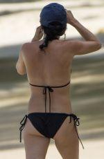 ANDREA CORR in Bikini at a Beach in Barbados 04/12/2018