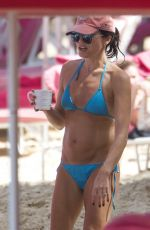 ANDREA CORR in Bikini on the Beach in Barbados 04/02/2018
