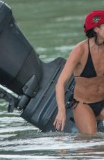 ANDREA CORR in Bikini on Vacation in Barbados 03/31/2018
