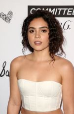 ANDREA LONDON at Marie Claire Fresh Faces Party in Los Angeles 04/27/2018