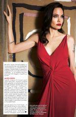 ANGELINA JOLIE in Hello Magazine, Georgia April 2018
