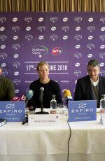 ANGELIQUE KERBER at Mallorca Open Tennis Press Conference 04/10/2018