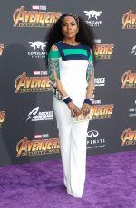 ANGLEA BASSETT at Avengers: Infinity War Premiere in Los Angeles 04/23/2018