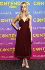 ANJA SAVCIC and LAURA MENNELL at Contenders Emmys Presented by Deadline Hollywood, Green Room in Los Angeles 04/15/2018