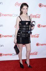 ANNA KENDRICK at Big Screen Achievement Awards at Cinemacon in Las Vegas 04/26/2018